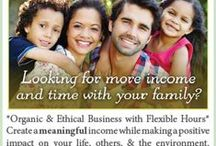 Organic Home Business / Looking for more income and time with your family? * Organic and Ethical Business with flexible hours * Create a MEANINGFUL income while making a positive impact on your life, others & the environment. * Includes full training & support! * Contact us TODAY!
