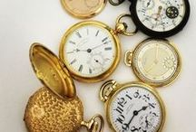 Pocket Watches / An array of pocket watches!