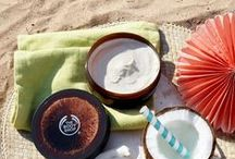 Travel Essentials / Explore The Body Shop's Summer Travel Essentials, a collection of our best-selling skincare, bodycare, makeup, and bronzing products for the summer. Cruelty free and 100% vegetarian.