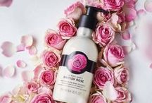 British Rose Body Care / Celebrate the Spring season with our British Rose Body Care range. From body butters to shower gels and fragrance sprays, our British Rose collection is infused with pure rose essence for a light floral scent to gently hydrate and cleanse skin. New, exclusive textures infused with real rose petals leave skin velvet-smooth and visibly glowing.