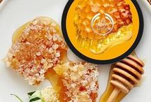 Honey Body Care / Dip into our luxuriously rich bodycare range. Each pot of moisturising Honeymania™ Body Butter contains Community Trade honey made from the nectar of thousands of wildflowers, to envelop your skin in a rich, floral scent.