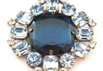 Rhinestone & Glass Brooches/Pins | Broschen / Please visit our eBay Store: http://stores.ebay.de/JAUL-biz-PERLEN-UND-GLAS