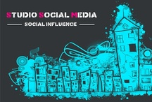 Stay Connected / Every way leads to Studio Social Media - just choose which network's door you want to open ;)