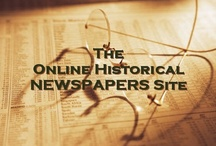 Online Historical Newspapers / by AnceStories: The Stories of My Ancestors
