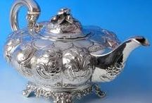 D:  TEAPOTS MADE FROM SILVER / by Snow White