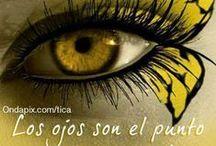 OJOS / Por que en las grandes tristezas de la vida,  hablan mejor los ojos que los labios. / by Diana Rocío