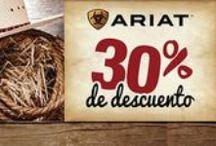 Botas Ariat / La marca Ariat por si sola es garantía de calidad. En Ranch Depot tenemos la mejor gama de sus productos y por su puesto al mejor precio.