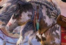 Native War Ponies / by Kool Bandit