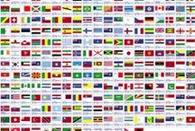 FLAGS / World + Flags / by MIA BLESSEDya