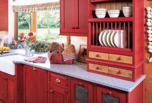 Country Kitchens / Country and Farmhouse Kitchens