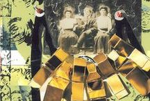 Collages / En marge de ses activités de création en danse, Louise crée également des collages.