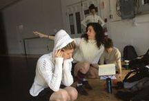 En coulisses... / Découvrez l'envers du décors de Louise Bédard Danse... des répétitions en studio à la vie au bureau !