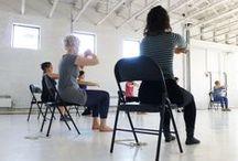 Ateliers d'initiation à la danse contemporaine / Depuis le printemps dernier, Louise Bédard offre des ateliers d'initiation aux femmes de tous âges qui souhaitent découvrir la danse contemporaine. Plus d'infos: http://lbdanse.org/fr/atelier-danse-contemporaine/