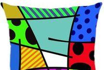 Almofadas Arte / Conheça a Linha de Almofadas Arte Luisa Decor