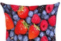 Almofadas de Frutas / Conheça a Linha de Almofadas de Frutas Luisa Decor