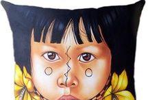 Almofadas Indígenas / Conheça a linha de Almofadas Indígenas Luisa Decor