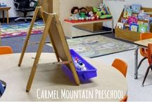 Classroom Organization / Help with all your classroom organization needs! Check out more of our classroom with an online tour of our facility at Carmelmountainpreschool.com