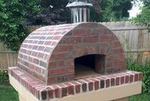 Cortile Barile Gallery / All of the beautiful ovens you see on this page were built with the Cortile Barile DIY Pizza Oven Forms from BrickWood Ovens.