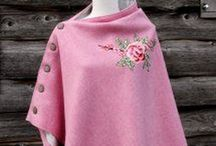 Capes, tweed & vintage fur / Practical and stylish tweed and wax capes and ponchos