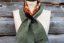 Tweed Neckwear / Snug but stylish tweed neckwear