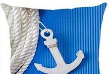Almofadas Navio / Conheça a linha de Almofadas de Navio da Luisa Decor