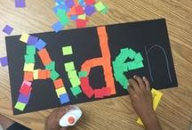 Name Recognition Activities / Activities to help your child learn their name.