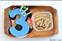 Number and Counting Activities / Activities to help your preschooler count and learn number recognition