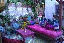Boho Gardens Patios / by PatchouliRose