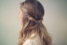 Long hair style / Ideas for a long hair