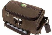 Golf Shoe Bags / Logo Golf Shoe Bags featuring your custom logo for your company, tournament or event. imprintgolf.com