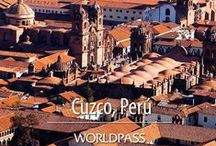"""Machu Picchu & Galapagos Cruise / Located 120 Km northwest of Cusco, the Inca City of Machu Picchu lay hidden from the world in dense jungle covered mountains until 1911. This """"Lost City"""" is one of the world's archaeological jewels and is one of the South America's major travel destinations. #AmazingTours #WORLDPASS"""