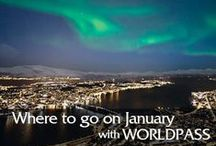 Where to go on January? / The mind wanders to enticingly unvisited corners of the map as a New Year starts and travel plans begin to take shape.   But where should those looking for a quick getaway go to make the most of January? From Scottish fire festivals to spending quality time with the Sphinx, we have the answers.