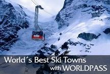 World's Best Ski Towns / Just what makes a classic ski town? It starts, naturally, with skiing and snowboarding so good they attract people like youth-bestowing fountains. Then add an inviting mountain burg steeped in ski heritage, amenities, and culture.