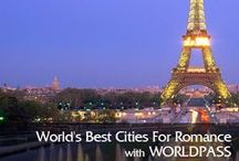 World's Best Spots for Romance / Be it an escapade to a gorgeous city, an overflow of culture, or pastries that make your heart sing, the world's most romantic cities offer plenty to love, whether you've found a match or are merely looking to let some sparks fly.