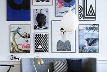 Art on the wall / Art