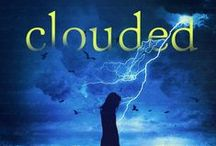Clouded / A Sumerian water and sky god myth collides with a modern high school.  Ayanna is a math nerd, logical and rational, even cold, but Calder makes her feel things she never had before. Somehow, she's able to accept it when she discovers he's a reincarnated Sumerian water god. Will she be able to accept the full truth, that the story of Enki and Inanna has been reborn in a modern Ohio high school?