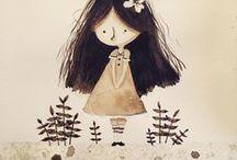 watercolor illustrations; aquarelle; art