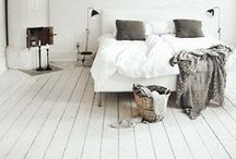 Interior Design & Decoration / Modern, scandinavian style home decor with some vintage details and color splashes