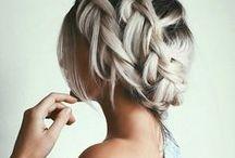 Hair / Gorgeous hair inspiration. Braids, pastel hair, up-dos, tutorials...