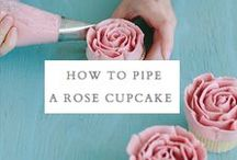 Baking Tutorials & Techniques / How to make the prettiest cakes, cupcakes and cookies / by Ruth & The Polar Bear
