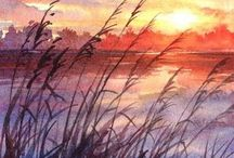 Watercolor Painting / Watercolor paintings for inspiration