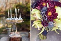 DIY/Potluck Wedding Reception Ideas / Inspiration, ideas and tips for DIY wedding receptions.