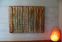 arte / art /  combinazioni di materia,forma,colore e disegno /  combinations of material,shapes,colors and drawing