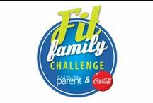 Fit Family Challenge on WCCB Charlotte / The Fit Family Challenge is a healthy lifestyle program for metro-Charlotte families. We're motivating families to get moving and create healthier lifestyles. To participate, register online and track activities on CharlotteParent.com for a chance to earn points and win prizes. Early registration opens April 1, 2014. The Fit Family Challenge officially runs April 15-June 9, 2014. The Fit Family Challenge is in partnership with Coca-Cola and CVS Pharmacy.