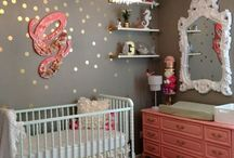 Girls nurseries/ rooms / by Audriana V