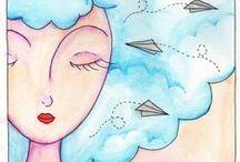 Por Jaci S. / Minhas pinturas e ilustrações. <jacilenelua@gmail.com>