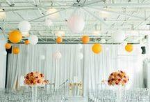 Moderne Hochzeit / Modern kann alles sein, was Ihr wollt. Klare Farbwelten, keine Schnörkel, geometrische Formen