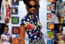 UNGARO / Créations de boutons haute couture  automne hiver 96/97 ; printemps été 97
