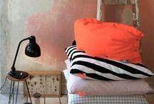 Orange / Le orange en décoration