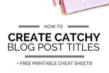 Blogging Tips I Allgemein